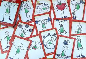 feeling cards printed