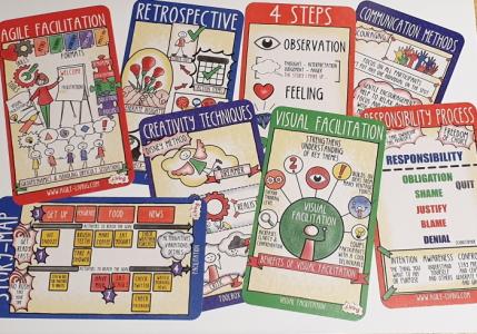 agile facilitation cards printed